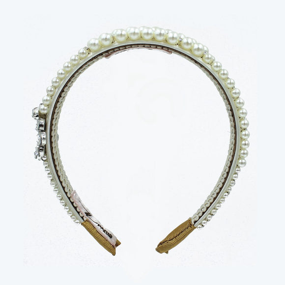 Queen pearls headband - ZDparis