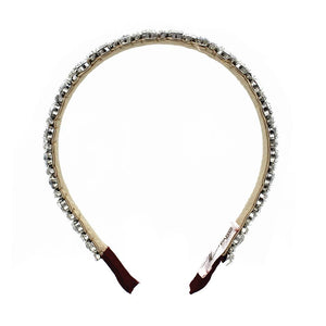 Silver headband - ZDparis