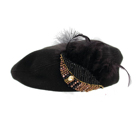 EGYPTIAN FEATHER BERET - ZDparis