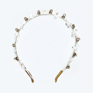 White garden headband - ZDparis