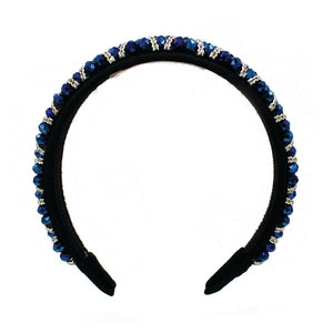 Crystal blue headband - ZDparis