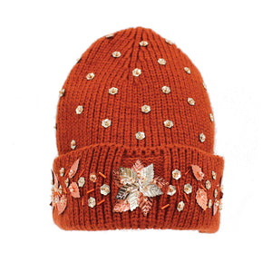 AUTUMN BLOOM BEANIE - ZDparis