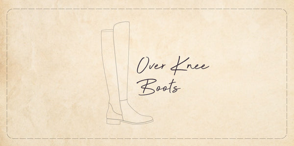 La historia de las botas de caña alta: Over the knee boots