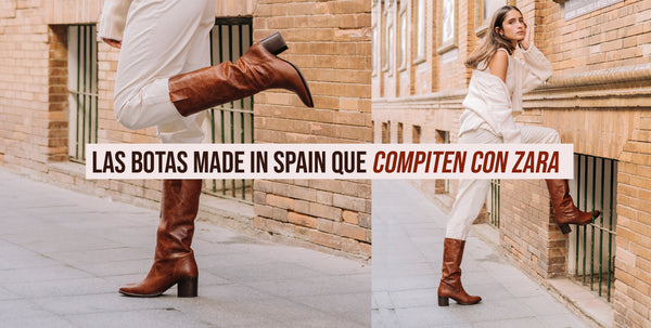 Las botas Made in Spain que compiten con Zara