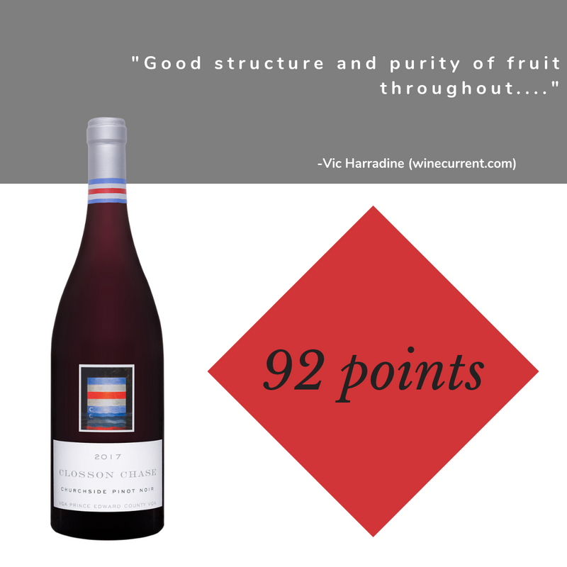 2017  Closson Chase Churchside Pinot Noir