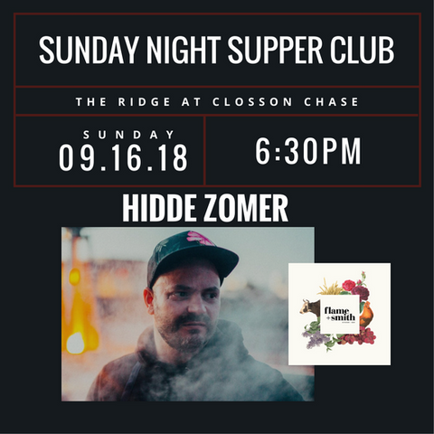 Supper Club - Hidde Zomer 2018