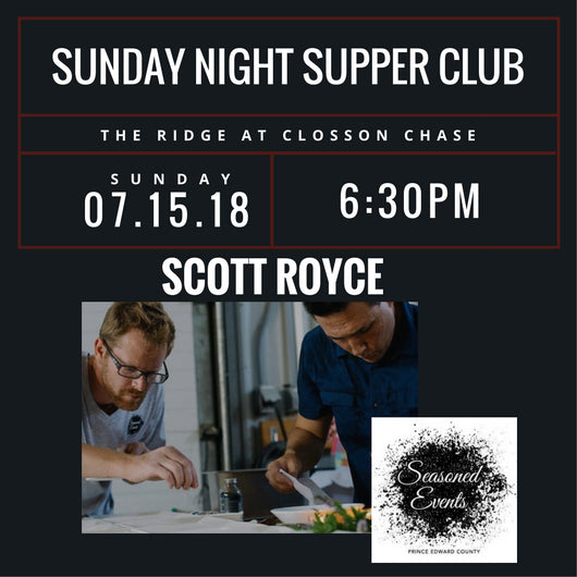Supper Club - Scott Royce 2018