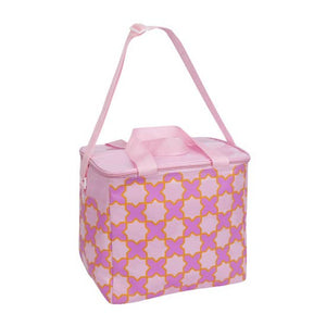 Beach Cooler Bag (Pink Pattern)