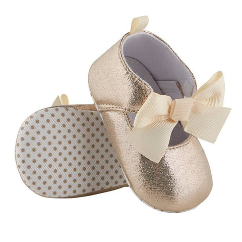 Baby Girl Gold Metallic Shoe