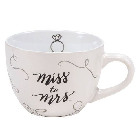 Miss to Mrs Ceramic Mug