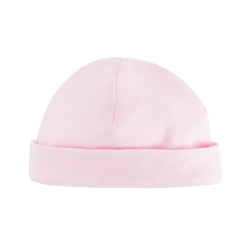 Baby Pink Reversible Beanie Hat