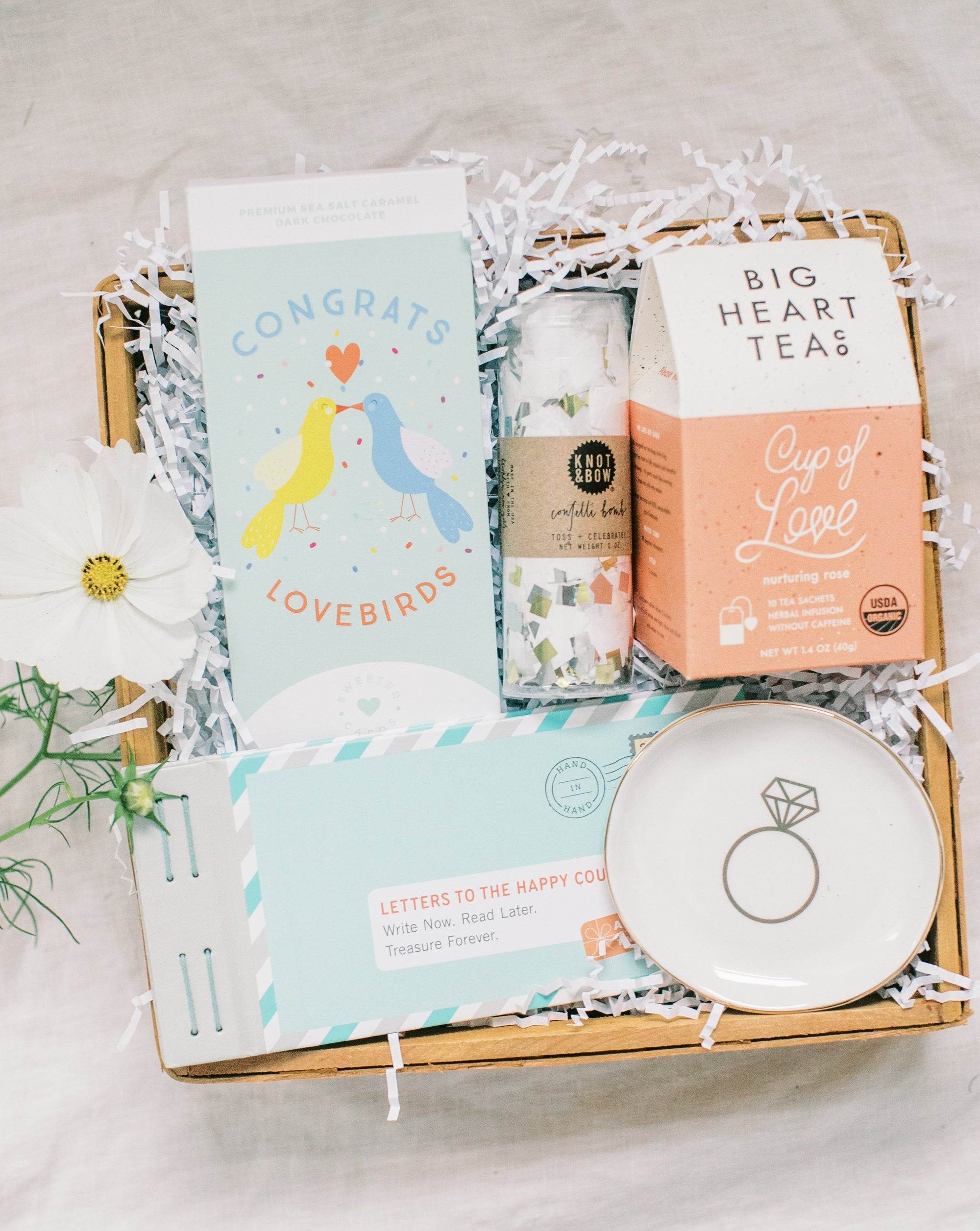 the wedding/engagement box