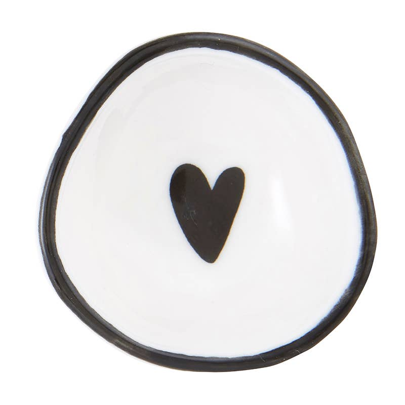 Tiny Ring Dish - Heart