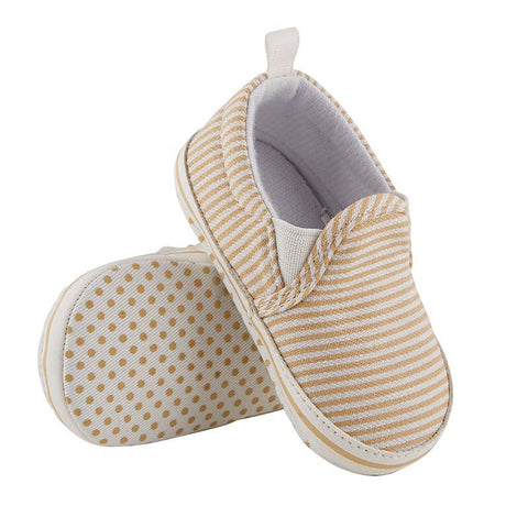 Baby Striped Slip On Canvas Sneaker