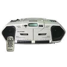 Califone 2395AV-02 Dual Well Portable CD Player