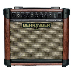 Behringer's AT108 Ultracoustic 15-Watt, 2-Channel Amplifier