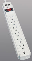 Tripp Lite TLP604 Surge Suppressor 6 outlets, 4 ft cord