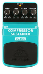 Behringer CS400 Compressor/Sustainer Pedal