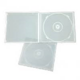DVD/CD Clear Poly Jewel Cases Four Capacity