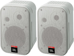 JBL Control 1 2-way Compact Speaker Pair  White