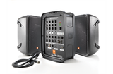 JBL EON208P Portable 300-watt powered PA with 8-channel mixer and Bluetooth®
