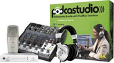 Behringer Complete PODCASTSTUDIO Bundle with Firewire