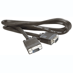 6' 15 Pin Male to Female VGA Extension Cable