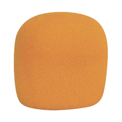Orange Foam Microphone Windscreen