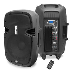 "Pyle Pro PPHP1537UB 1,200W 15"" Active 2-Way PA Speaker with Bluetooth"