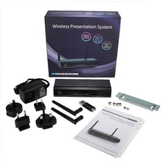 QVS's WePresent WGA-310 VW-4PHU VGA/HDMI Wireless Presentation System