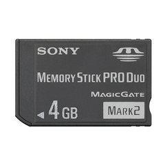 Sony 4 Gig Memory Stick PRO Duoܢ Mark 2 Media
