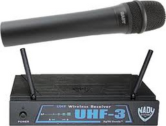 Nady UHF-3 Wireless System Handheld System