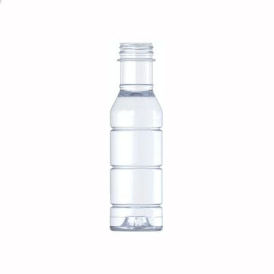 03-3000, 12oz Clear, Hot Fill Bottle, 38mm, Tamper Evident Finish
