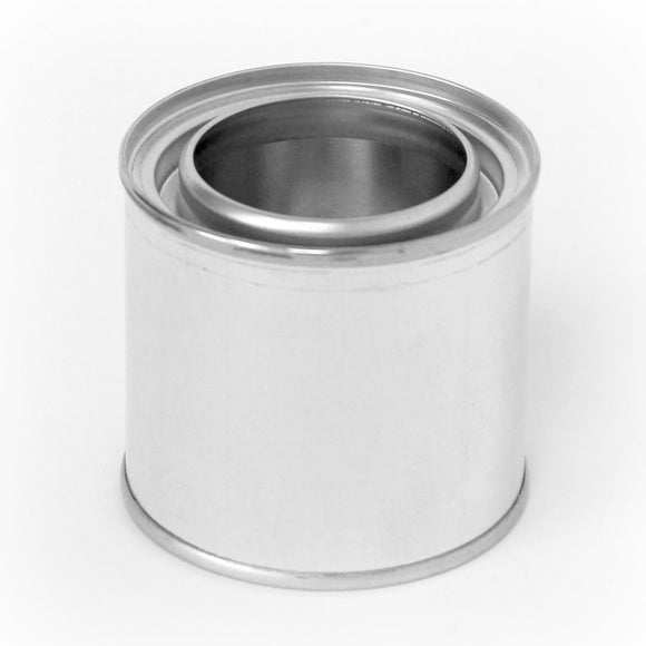 1/4 Pint tin paint can unlined with plug