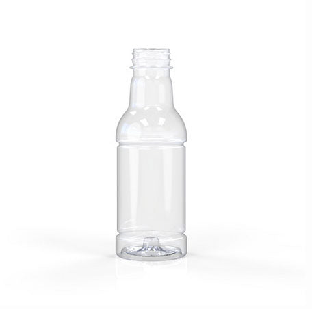 03-3001, 16oz Clear, Hot Fill Bottle, 38mm, Tamper Evident Finish