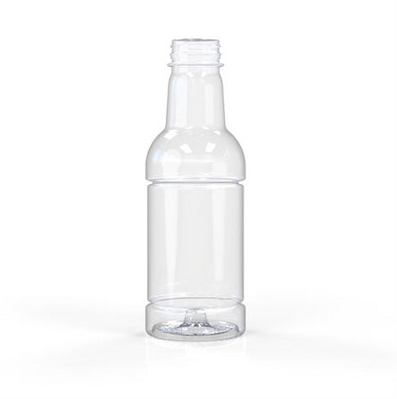 03-3002, 20oz Clear, Hot Fill Bottle, 38mm, Tamper Evident Finish