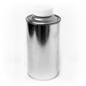 4 oz cone top tin can with Child Resistant Cap