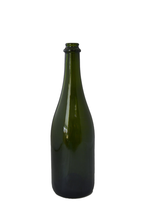 Champagne 750 ml 26 mm Crown Finish Champagne Green WP-106  (Case of 12)