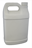 Bottle gallon f-oblong HDPE florinated