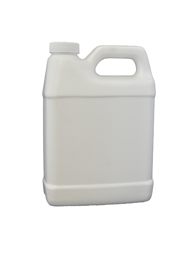 Bottle 32 oz F Oblong HDPE 33mm White