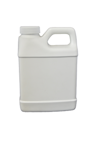 Bottle 16 oz F oblong HDPE 33/400 white