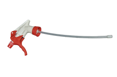 TRIGGER SPRAYER SHIPPER STYLE 28/400 RED/WHITE