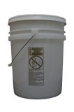 Five gallon UN Rated Natural Plastic Pail