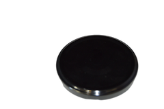 CAP 70/2030 METAL BLACK NO BUTTON & PLASTISOL