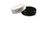 CAP 38-400  METAL WITH  PLASTISOL LINER BLACK