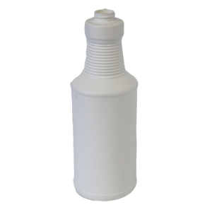 Bottle 32 oz Ring Neck Carafe HDPE 28/400 White