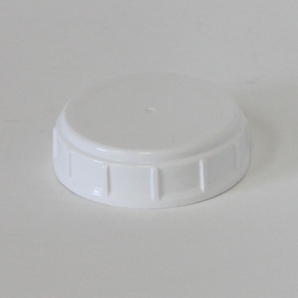 Cap 63-S01-23 HD PP white ribbed sides with a foam liner