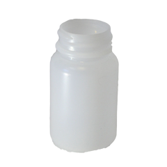 60 cc natural jar with a 33mm neck