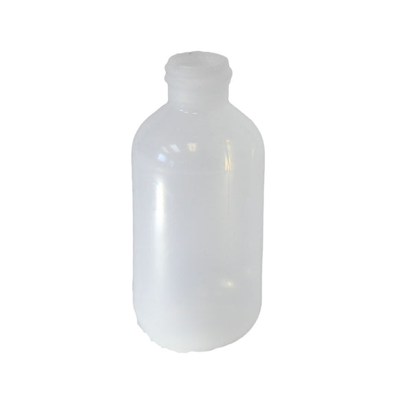 Bottle 4 oz Boston round HDPE 24/410 natural