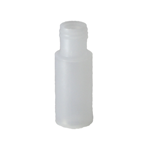 1/4 oz cylinder round bottle in LDPE with a 15/415 neck in Natural